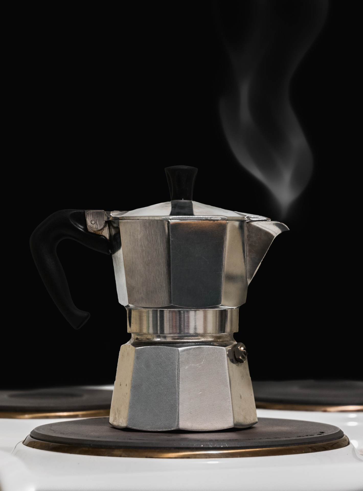 Press Coffee Maker With LCD Screen